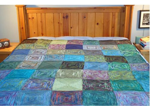 Recorrected roadtrip quilt
