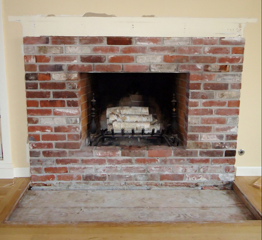 Removing Brick From Fireplace Image Collections Norahbennett Com 2018