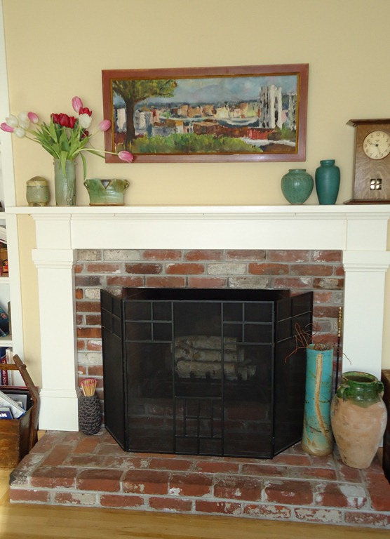 Phenomenal Fireplace Redo Janets House Download Free Architecture Designs Sospemadebymaigaardcom
