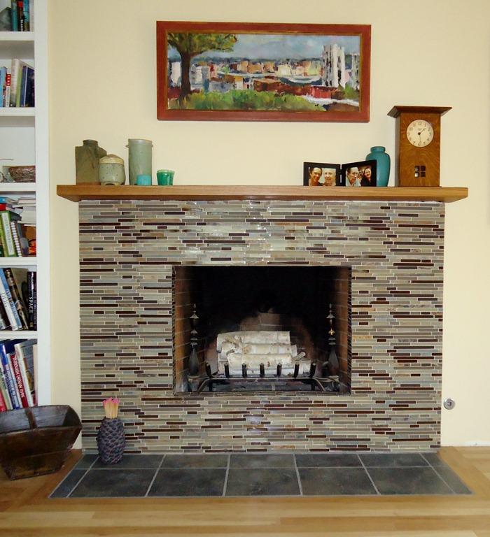 Redo A Brick Fireplace | Home design ideas