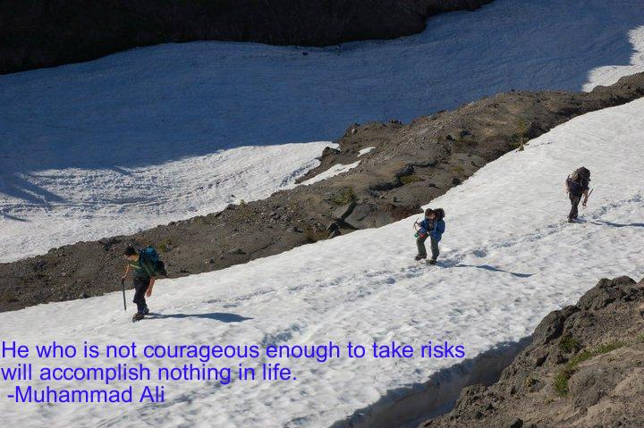 Snow climbers