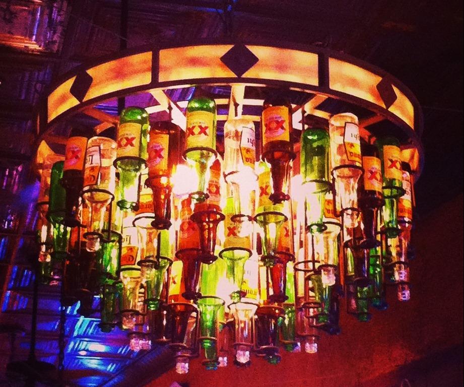 Beer Bottle Chandeliers Wine and beer bottle chandeliers janets house photo 21 this big beer bottle audiocablefo